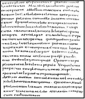 Canonul Muratorian