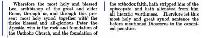 Conciliul de la Calcedon sesiunea 3 NPNF2 vol 14 pg 259-260