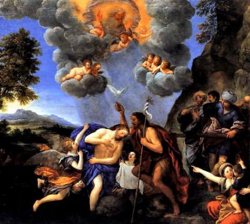 Isus Cristos botezul lui Ioan prefigurare a sacramentului botezului