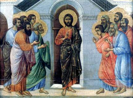 Isus Cristos ii trimite pe apostoli