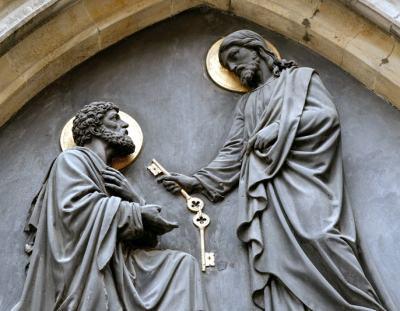 Biblia învață că Isus l-a făcut pe sf. Petru primul papă