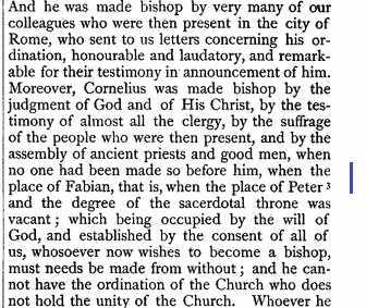 Sf Ciprian scrisoare catre Antonianus ANF vol 5 p 329