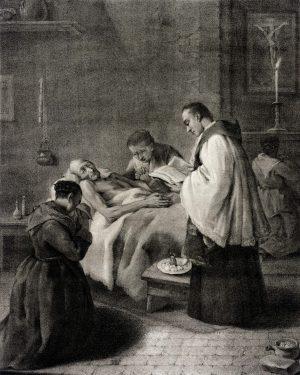Ungerea de pe urma Sacrament catolic
