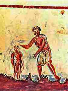 botez-apa-catacombe-primii-crestini